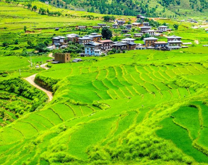 Butão O Reino do Dragão