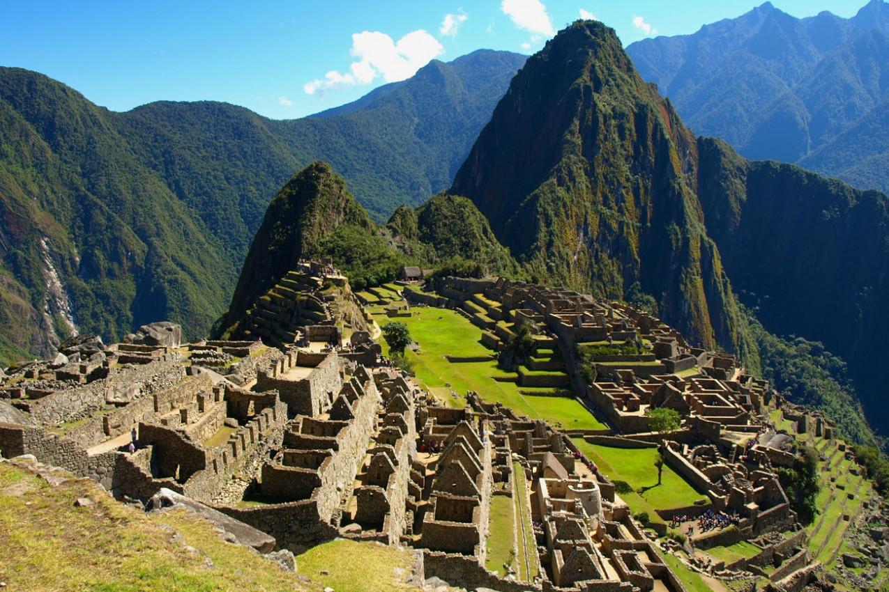 Machu Picchu ruínas