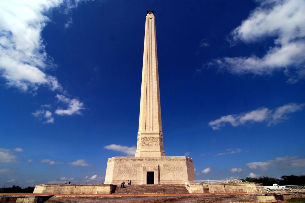 The San Jacinto Monument in Houston, Texas