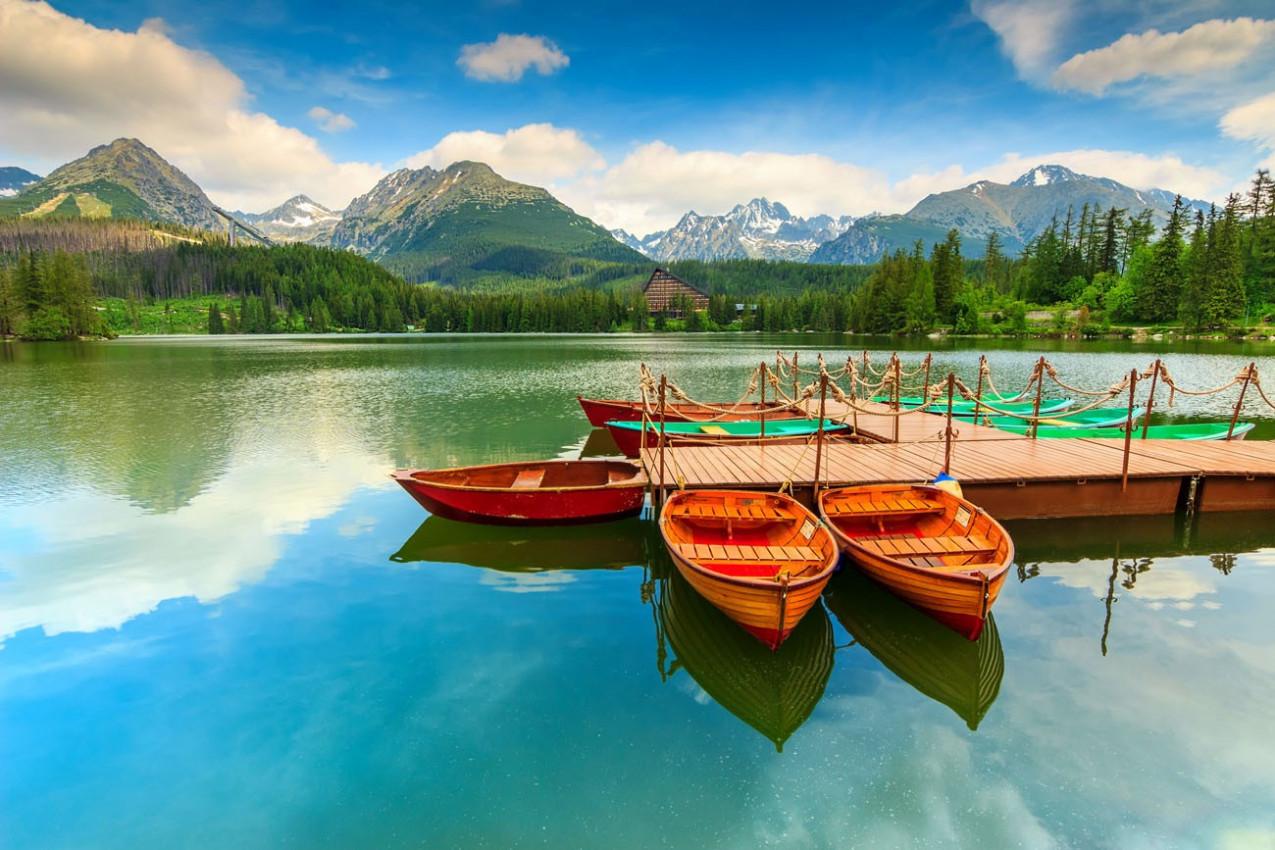 National Park High Tatra, Strbske Pleso, Eslováquia