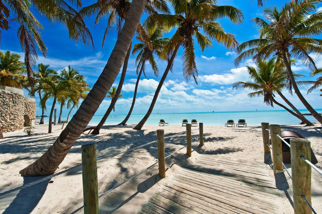Passarela para a Praia de Key West