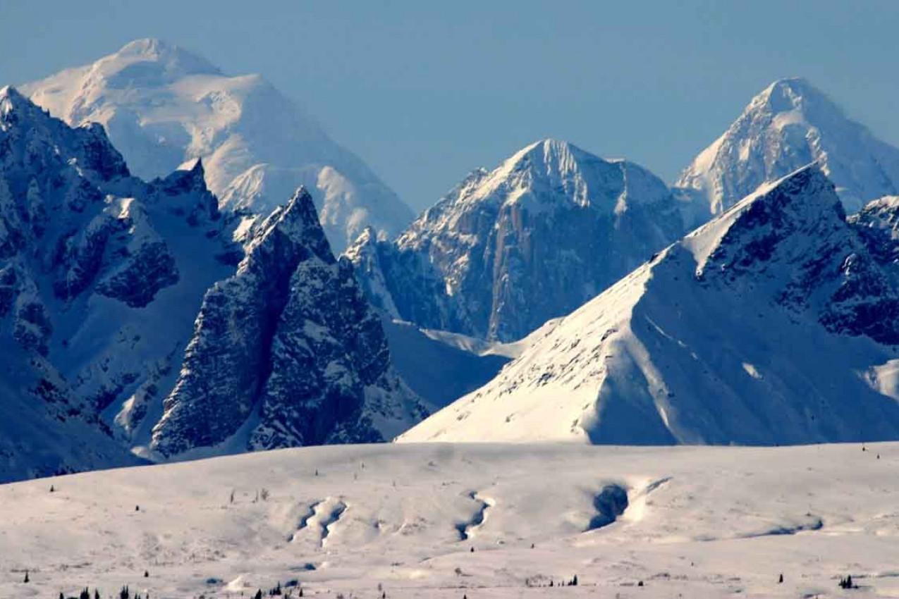 Picos no Alaska