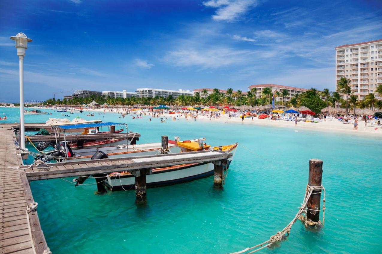 Pier em Aruba