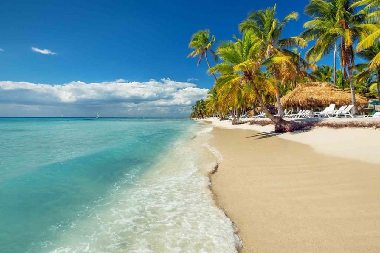 Linda Praia de Punta Cana