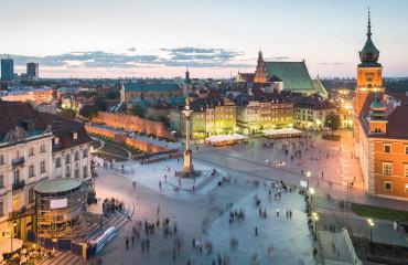 Polônia centro da Cracovia