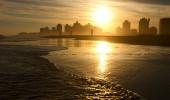 Por do sol em Punta Del Este