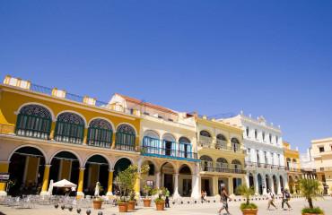 Praça Vieja em Havana