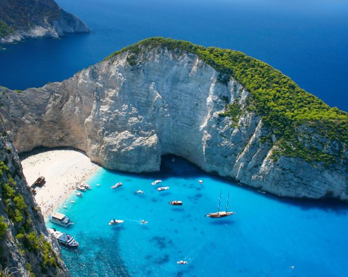 Atenas, Milos, Santorini e Mykonos