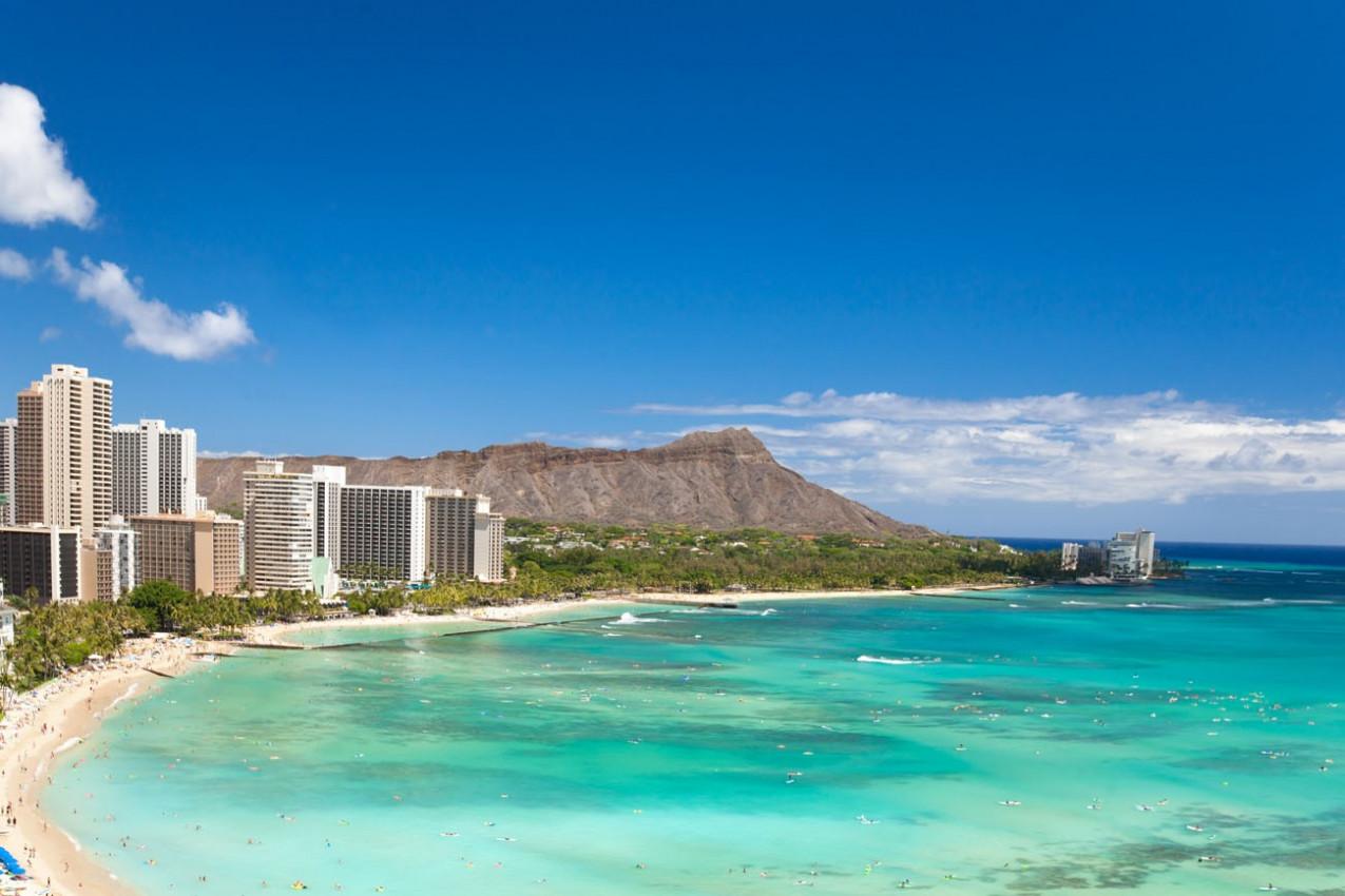Praia Waikiki Beach Hawaii