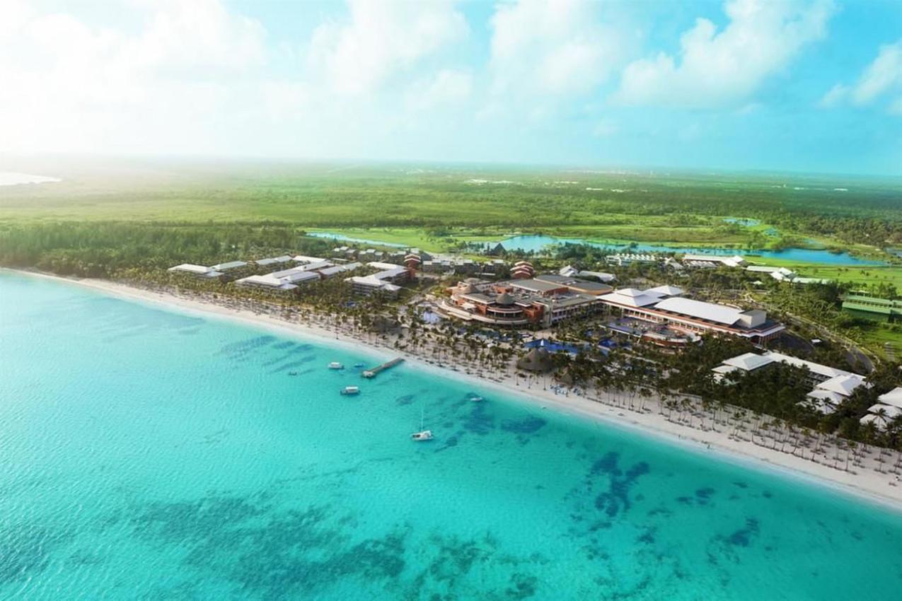 Vista aérea de Punta Cana
