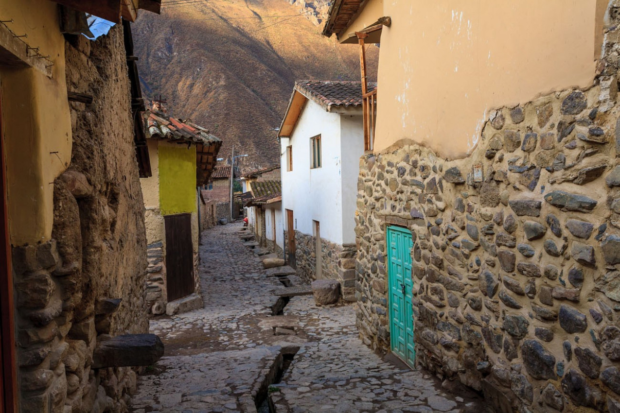 Ruas de Ollantaytambo, Cuzco
