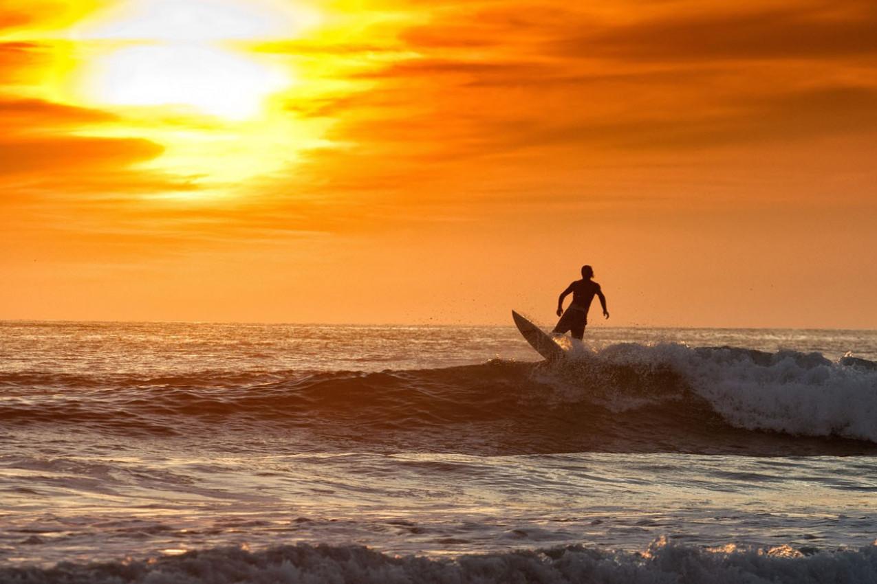 Por do Sol na Costa Rica