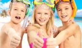 Crianças nas ilhas cayman