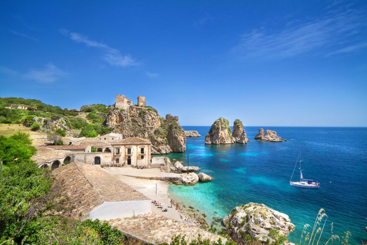 Tonnara di Scopello, Sicília, Itália