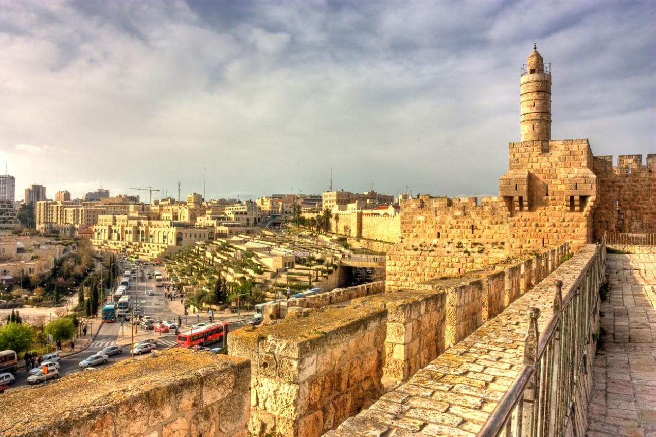 Torre de David (cidadela), a cidade antiga de Jerusalém, Israel