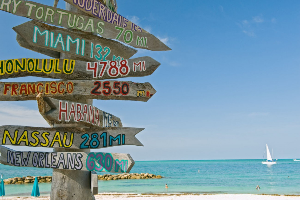 Totens em Key West