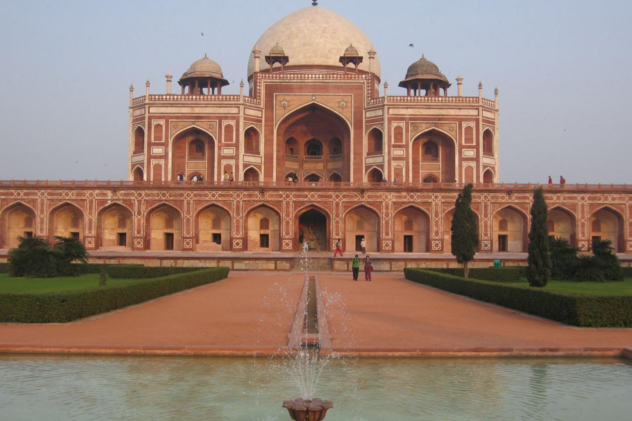 Túmulo de Humayun - índia