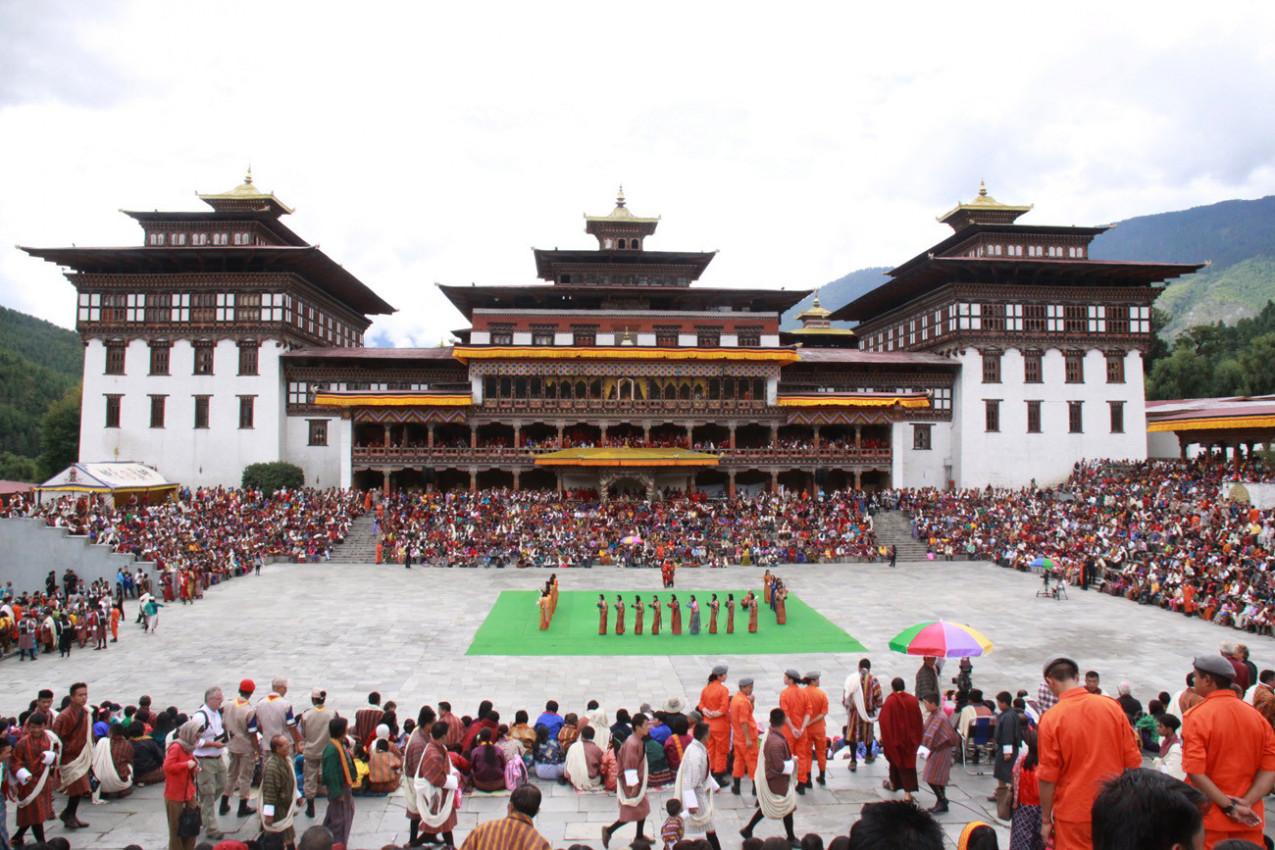 Tashichho Dzong - Butão