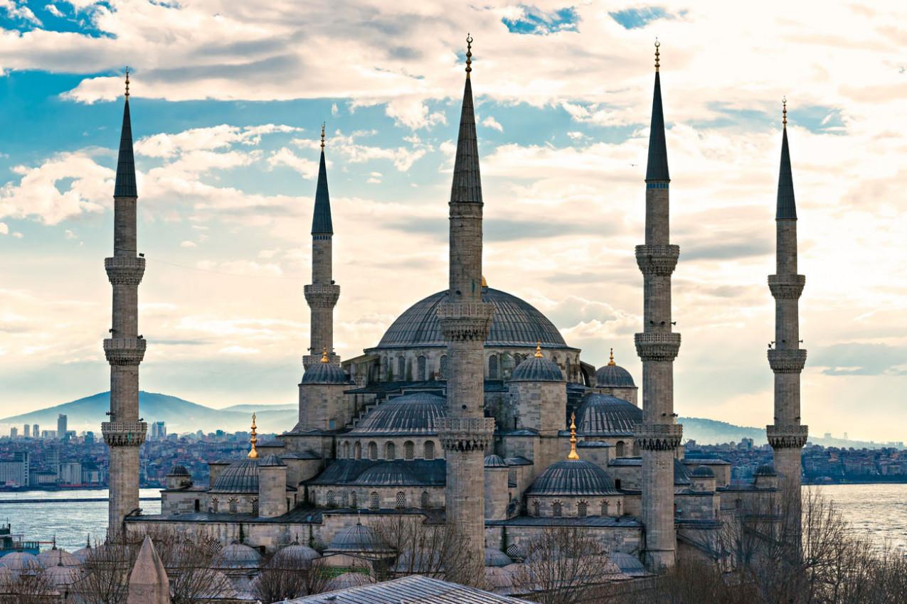 Mesquita do Sultão Ahmed - Mesdquita Azaul