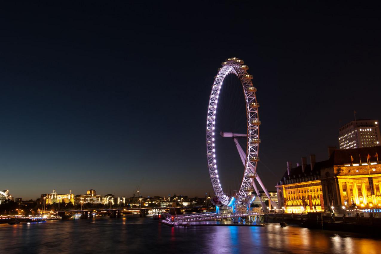 Viagem para Londres - Roda Gigante