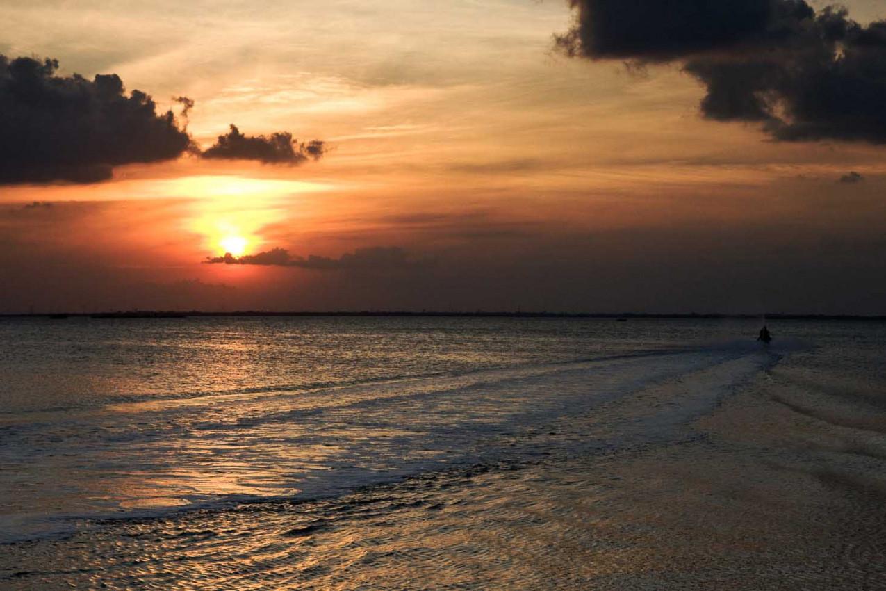 Viagem para Cancun - Por do Sol